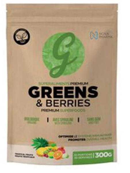 Nova Pharma Greens & Berries