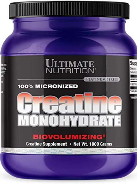 Ultimate Nutrition Créatine Monohydrate 1kg