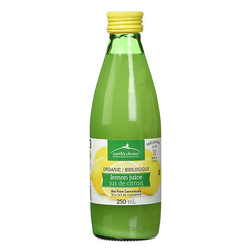 Jus citron bio 250ml
