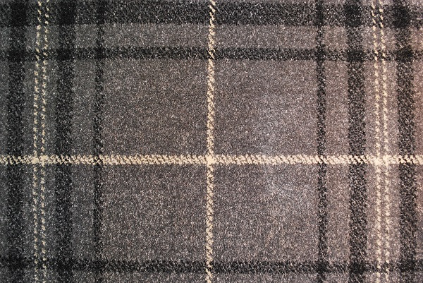The Plaid Collection - Grey Cream T26