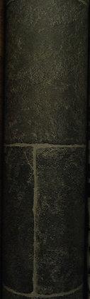 Dark Grey Slate Tile Vinyl (3.35m x 3m)