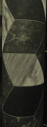 Patterned Grey & Black Vinyl (2.5m x 3m)