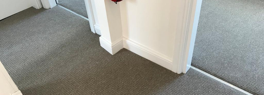 Carpeted landing and bedrooms