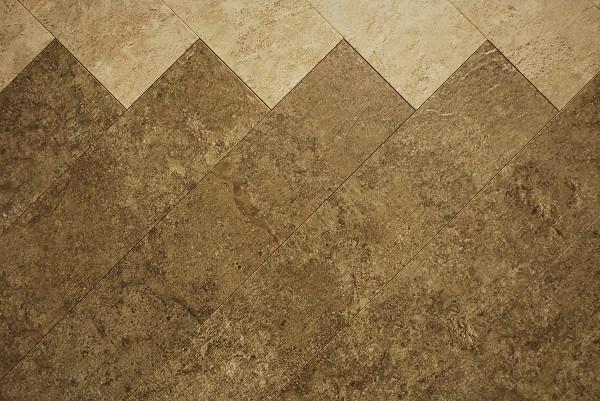 Cottage Sandstone and Smokey Slate Parquet