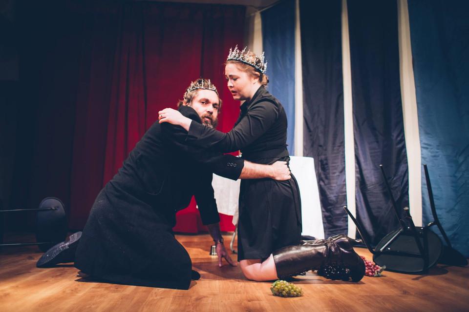 Macbeth Love and Despair, Program 1: Macbeth (plus a bit of The Tempest) Seoul Shakespeare Company Photo by Robert Michael Evans 2015