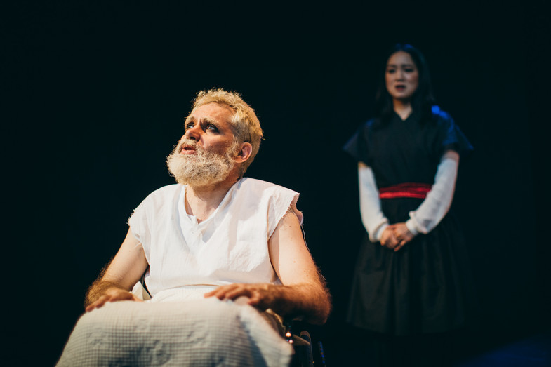 King Lear King Lear Seoul Shakespeare Company Photo by Robert Michael Evans 2019