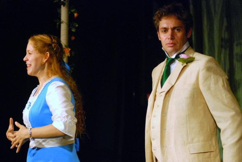 Algernon The Importance of Being Earnest Cut Glass Theatre 2012