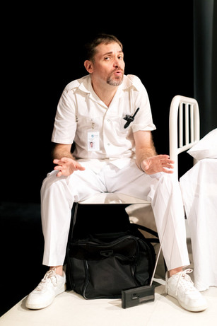 Peter The Orderly Speech of Fire and Seoul Shakespeare Company Photo by Robert Michael Evans 2019