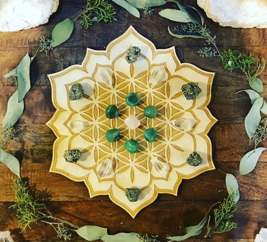 Crystal Grids and their Crystals