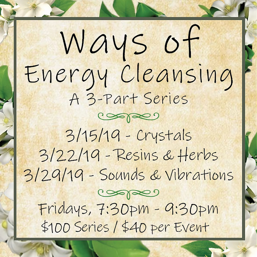 Ways of Energy Cleansing