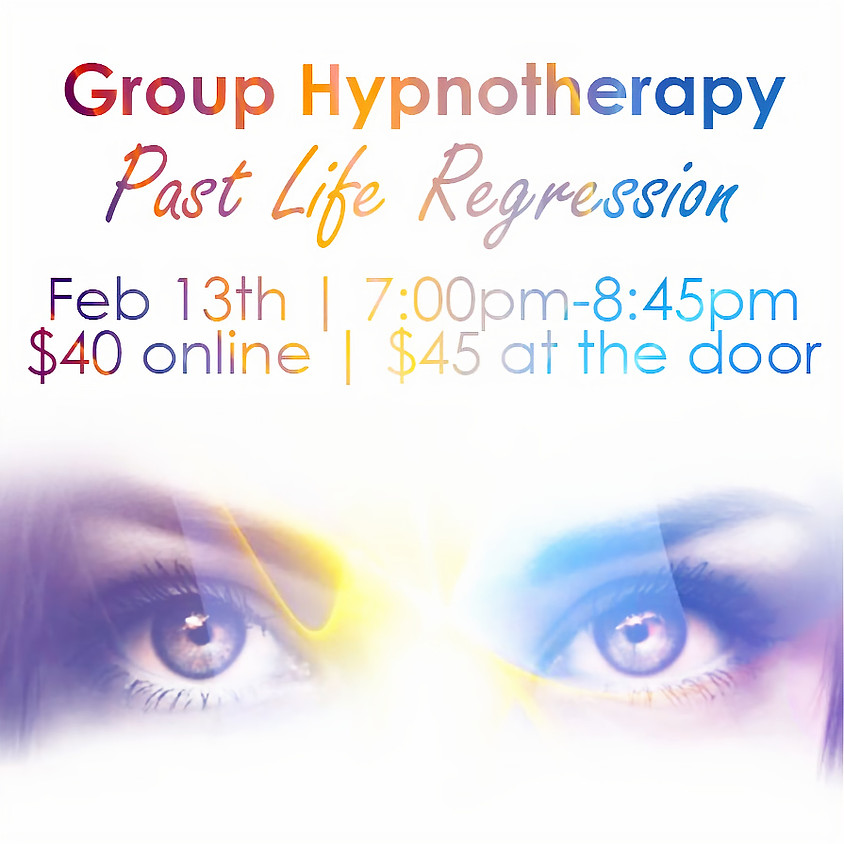 Hypnotherapy Group Session - Past Life Regressions