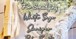 My favorite herbs for smudging