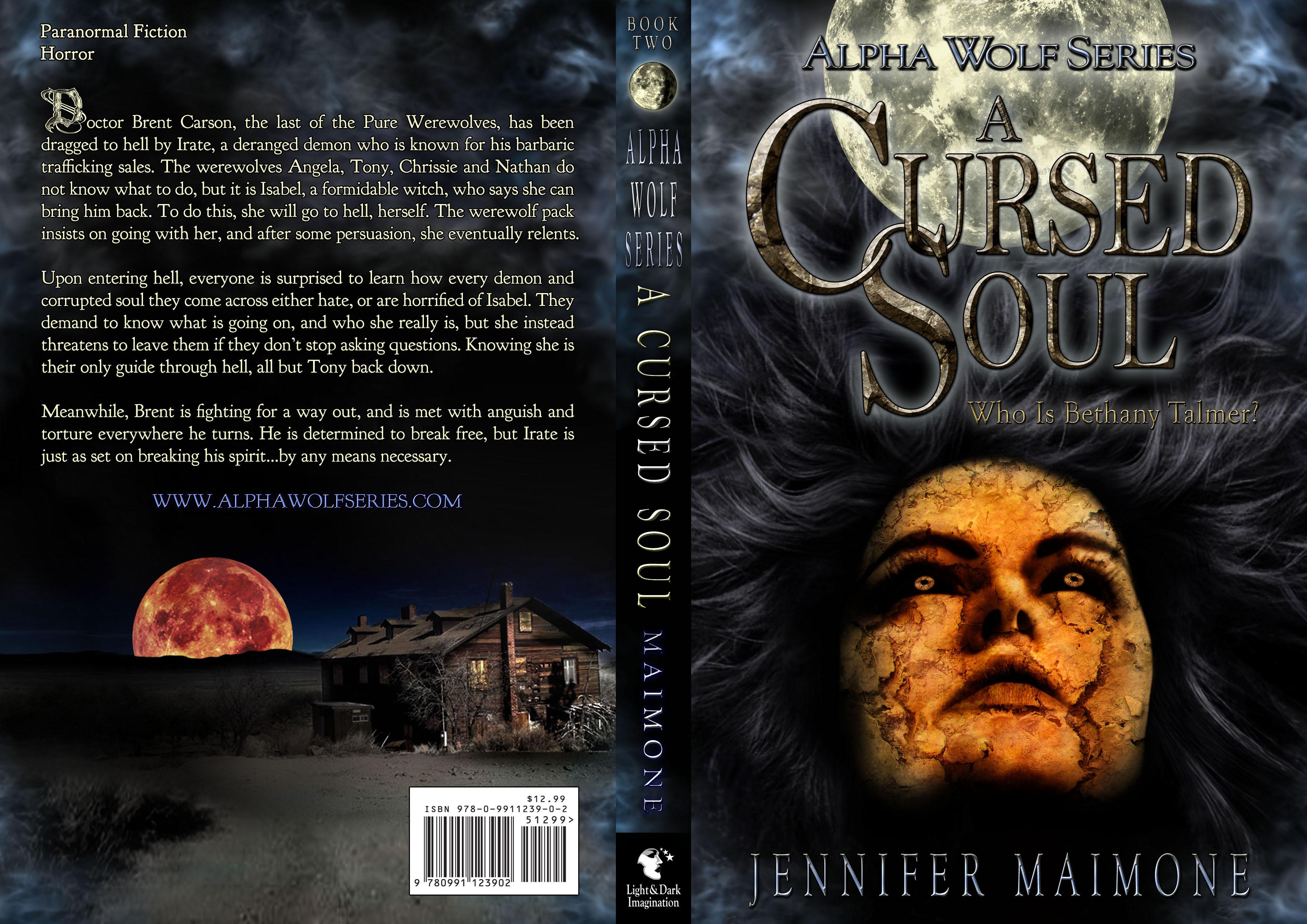 Book Cover - A Cursed Soul