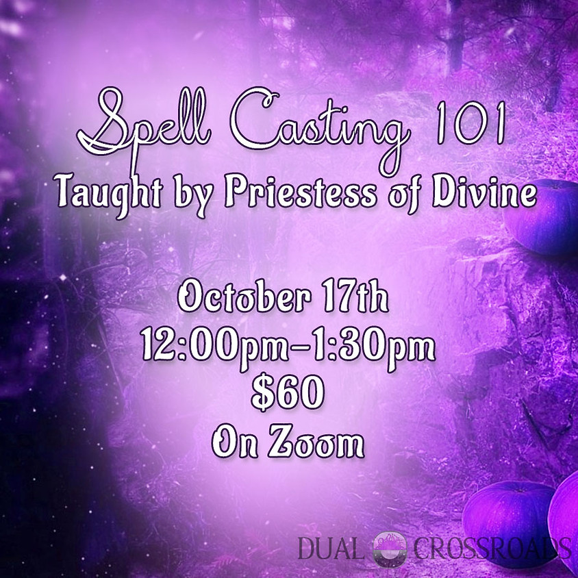 Solo Witchcraft Class -  Spell Casting 101