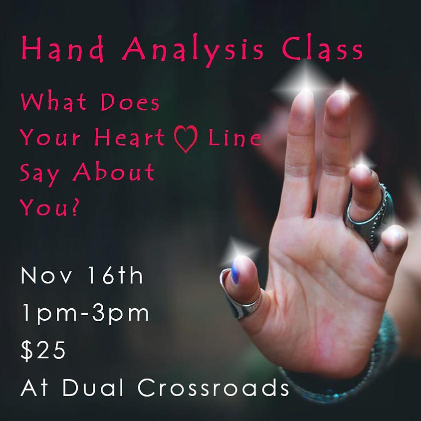 Heart-Line Hand Analysis Class