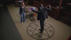 Demon Trap from the (awesome) show, Supernatural