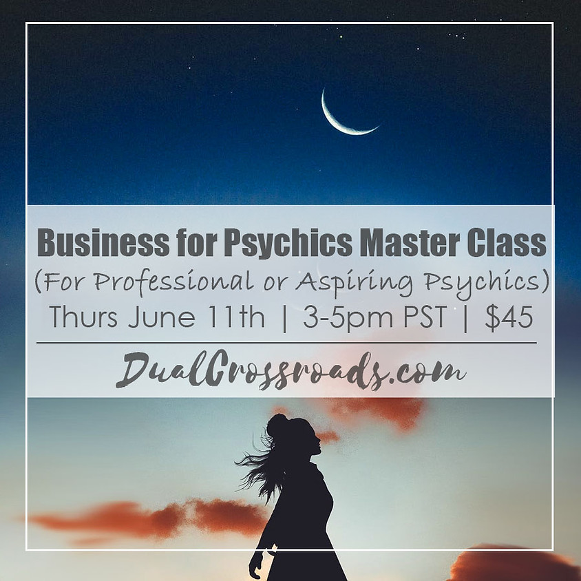 Master Class on Business for Psychics