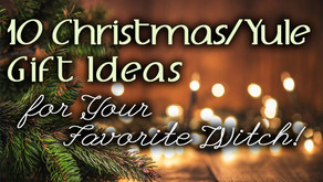 10 Christmas/Yule Gift Ideas for Your Favorite Witch!