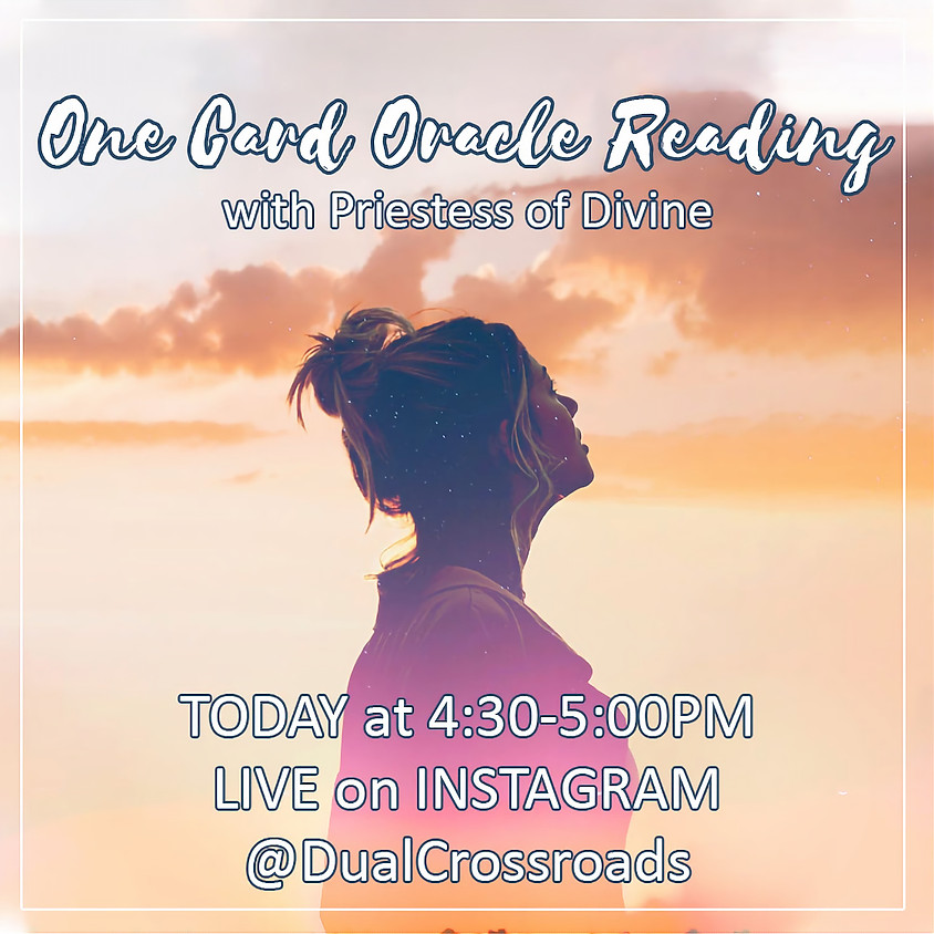 One Card Oracle Reading with Priestess of Divine