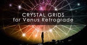 Crystal Grids for Venus Retrograde