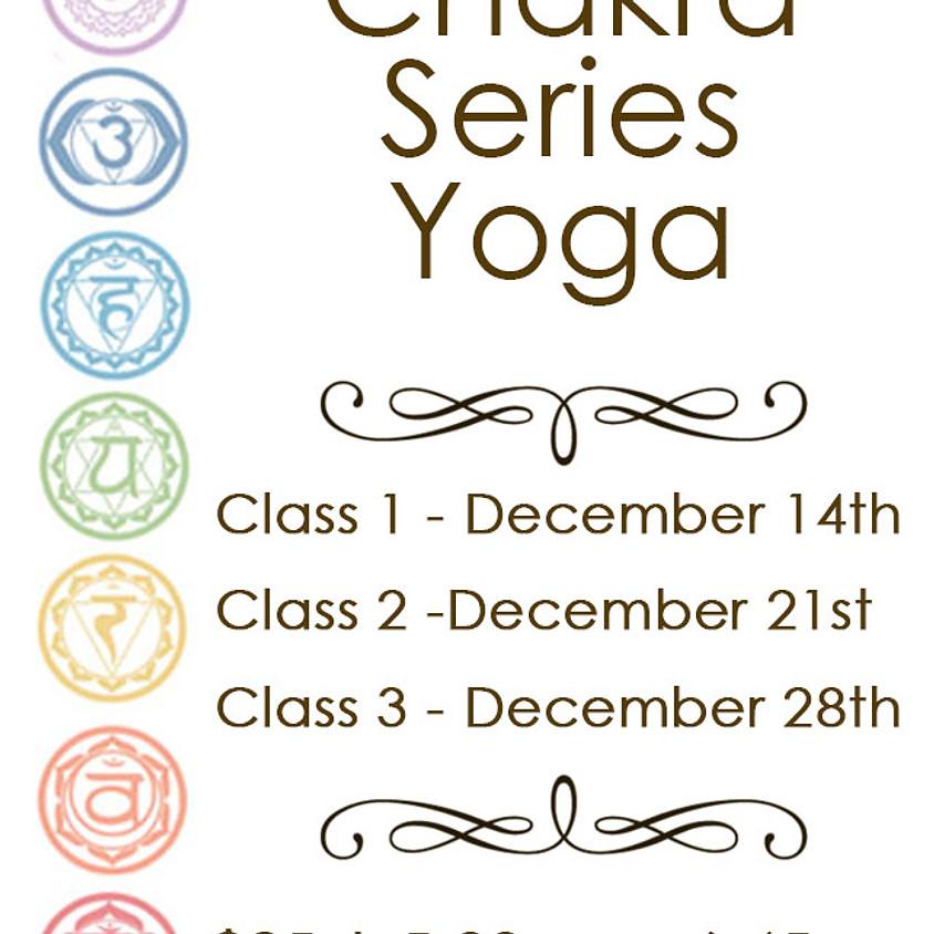 Chakra Series Yoga - Class 3