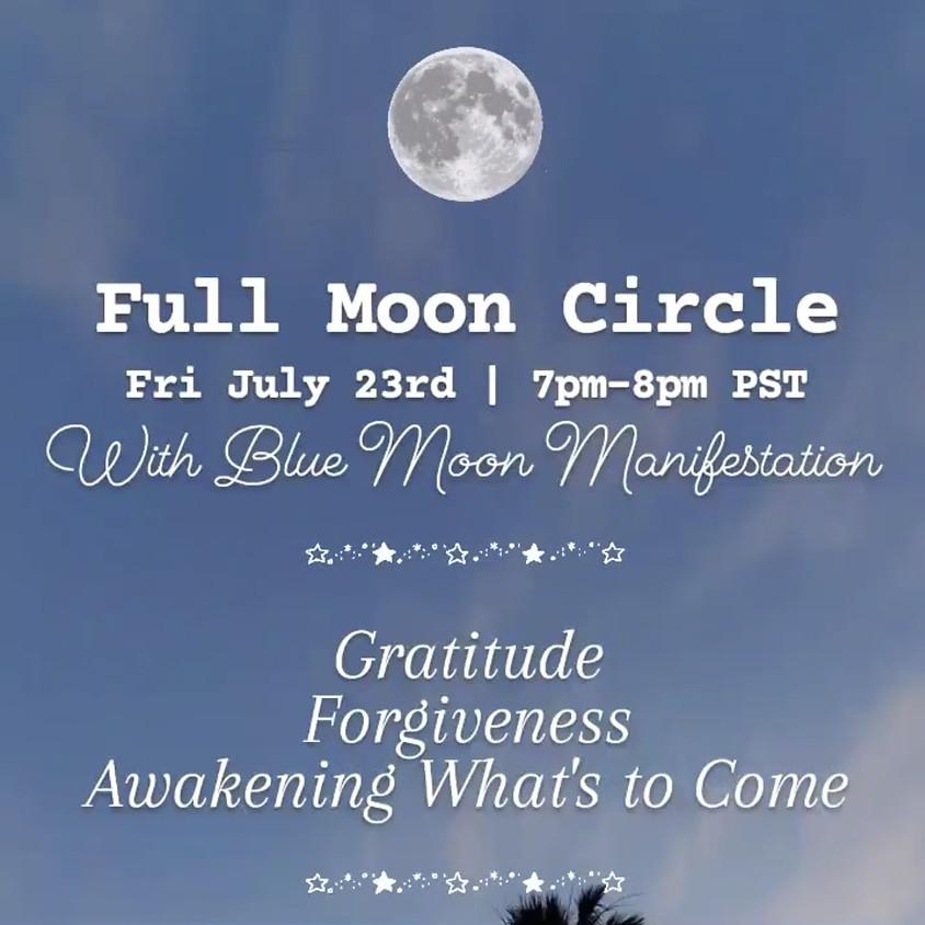 Full Moon Circle at Dual Crossroads