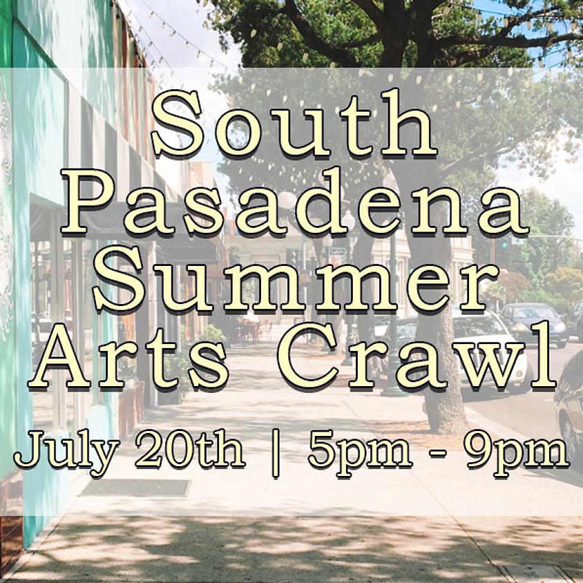 South Pasadena Summer Arts Crawl!