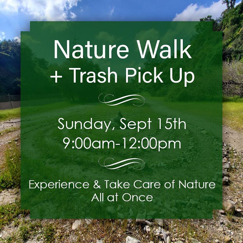 Nature Walk + Trash Pick Up, Sun 15th