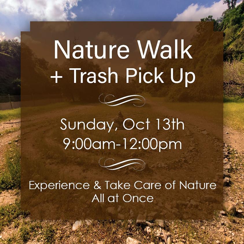 Nature Walk + Trash Pick Up, Sun 13th