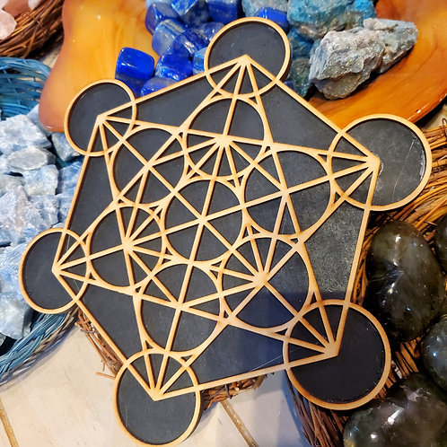 Crystal Grid - Metatron's Cube