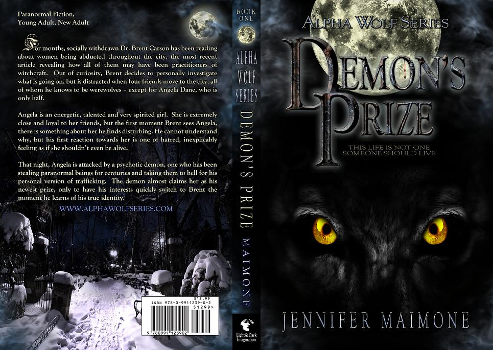 Book Cover - Demon's Prize Cover