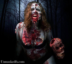 Zombie in the Woods