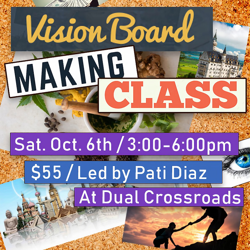 Vision Board Making Class