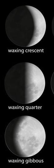 Waxing Moon Phases