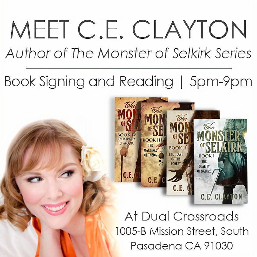 Meet C.E. Clayton - Book Signing and Reading