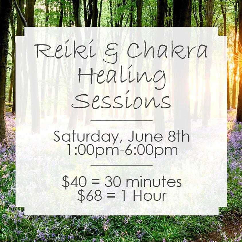 Reiki & Chakra Healing with Francine Ang