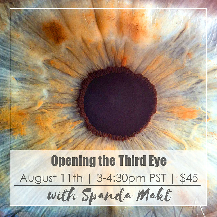 Intro to Opening the Third Eye