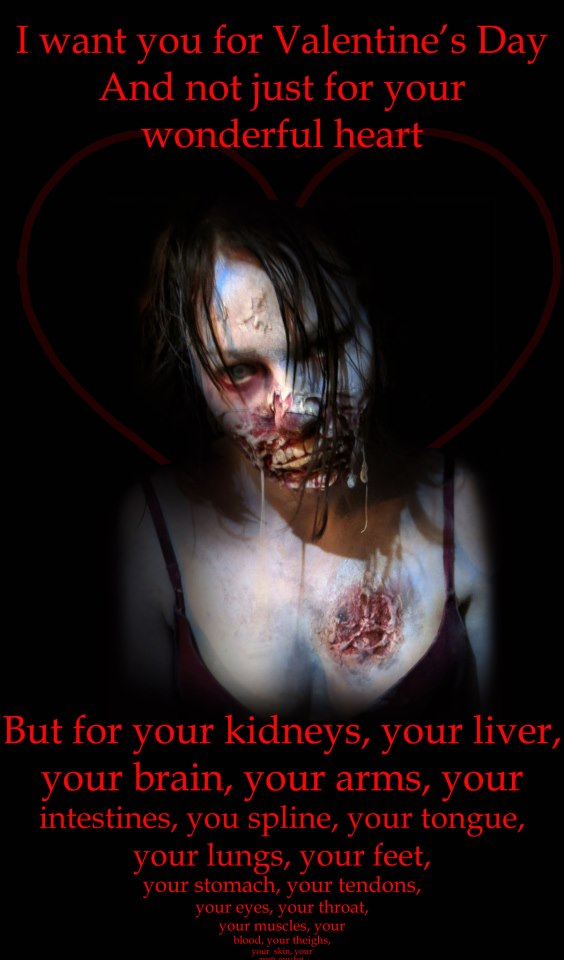 Valentine's Day Zombie
