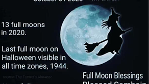 October 2020 - Halloween Blue Moon Magickal Tips