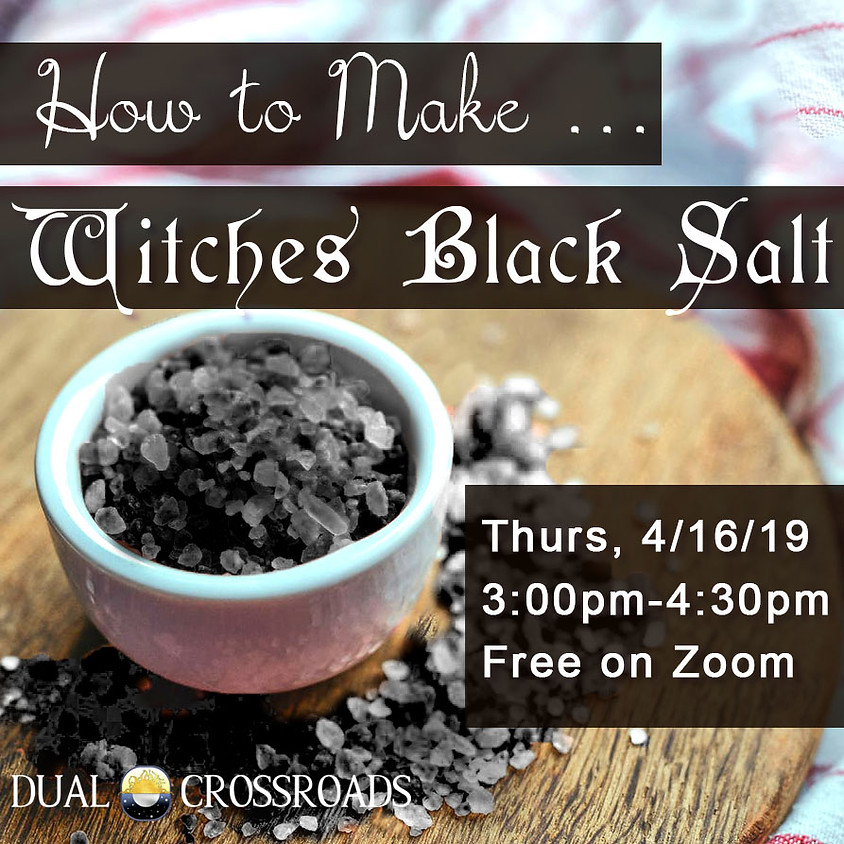 Making Witches Black Salt
