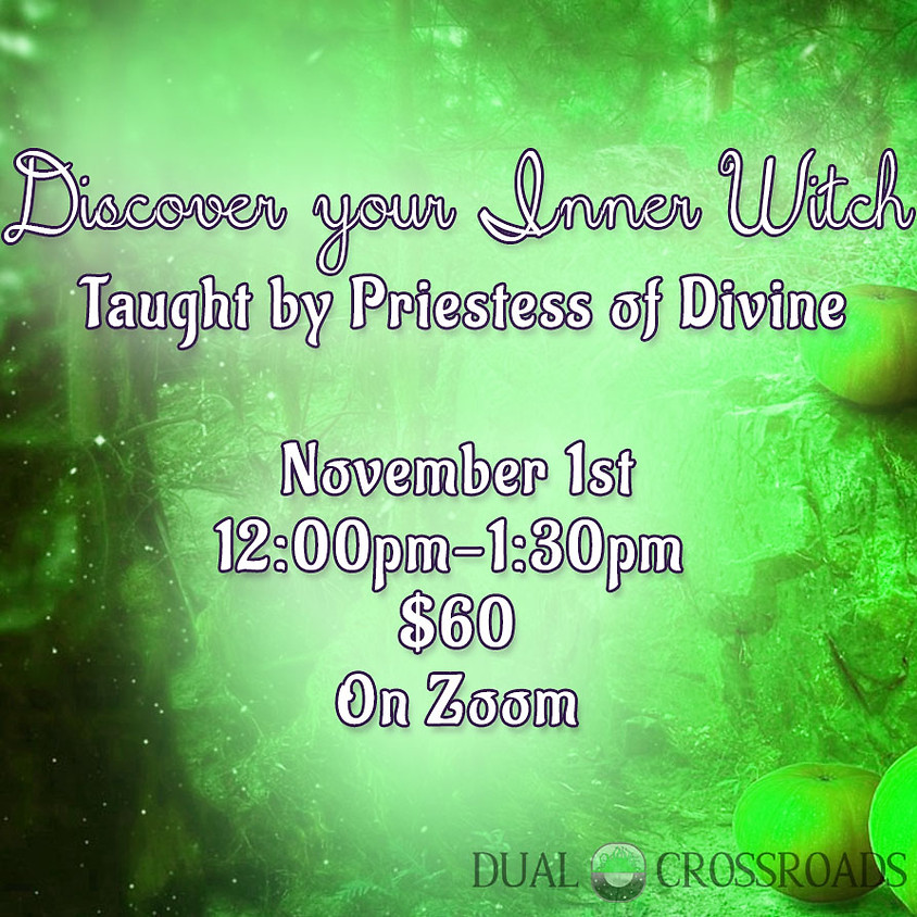 Solo Witchcraft Class -  Discover your Inner Witch
