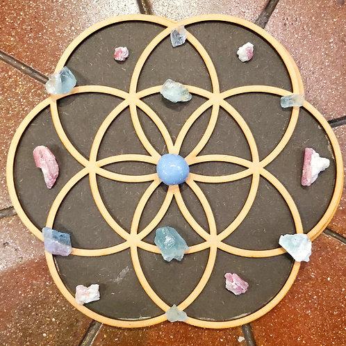 Crystal Grid - Flower of Life