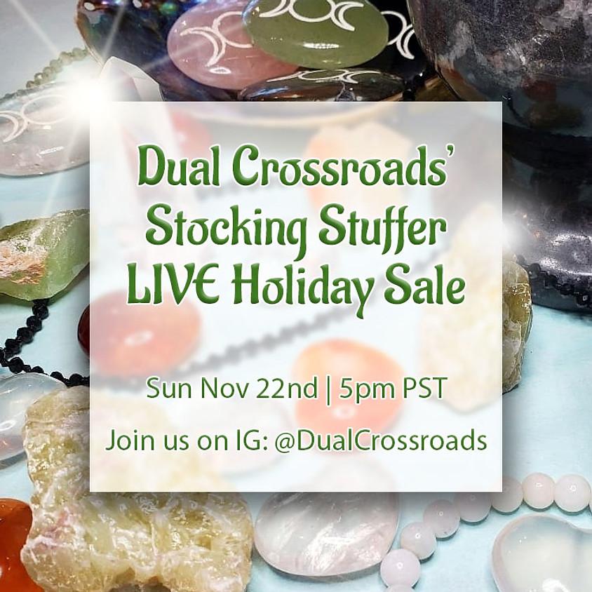 Dual Crossroads' Stocking Stuffer LIVE Holiday Sale