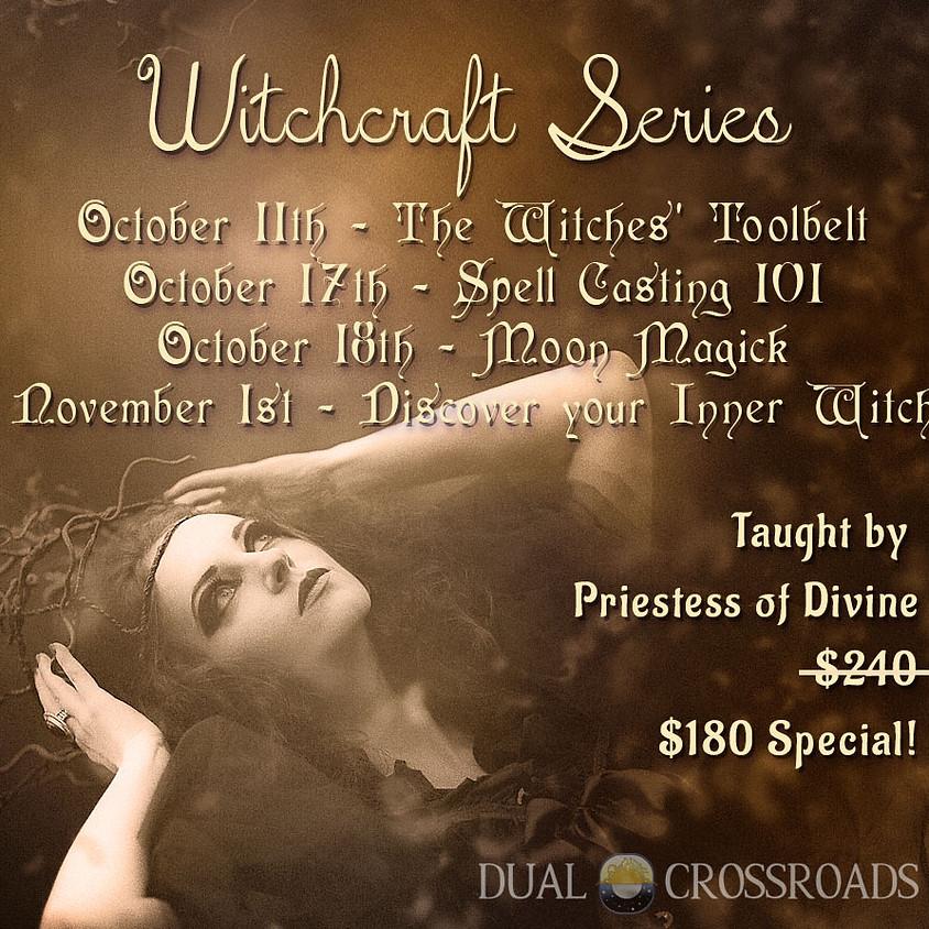 4-Part Witchcraft Series - Bundle Discount!