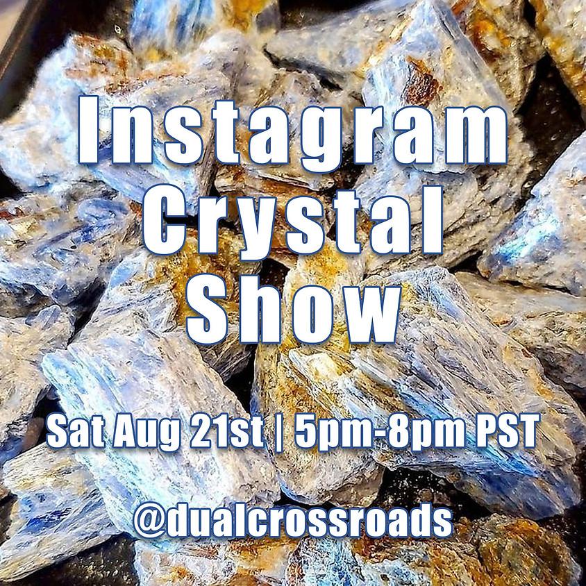 Live Crystal Show on IG!