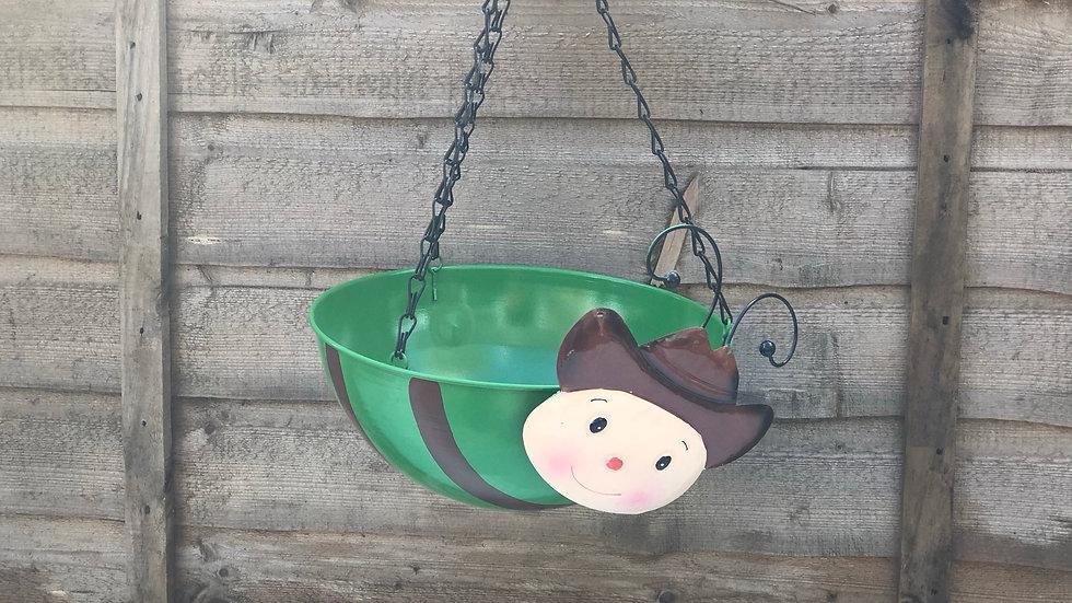 Cowboy - Wobble Head - Hanging Basket