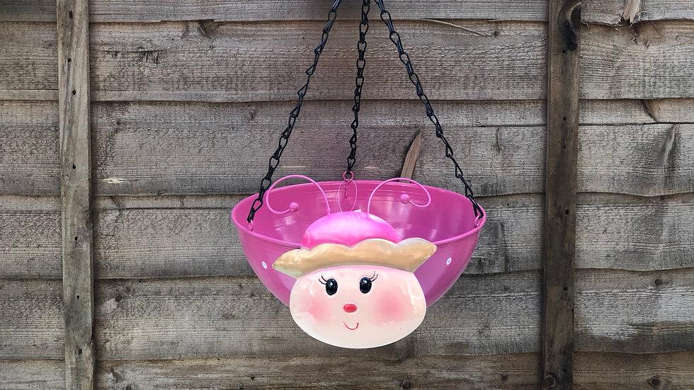 Princess - Wobble Head - Hanging Basket