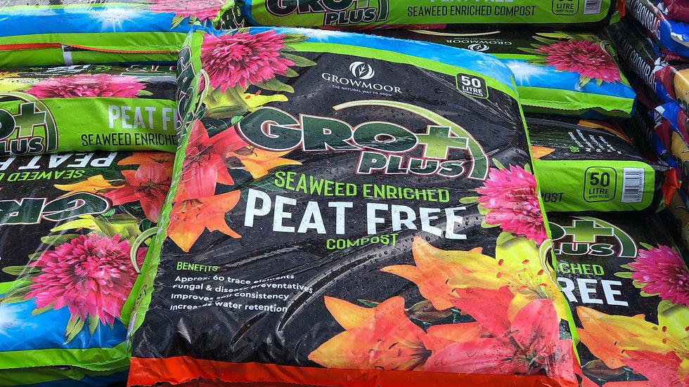 Gro Plus Peat Free Compost 50L