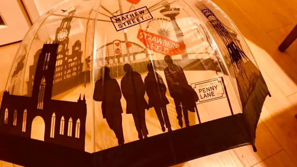 Liverpool Skyline Umbrella