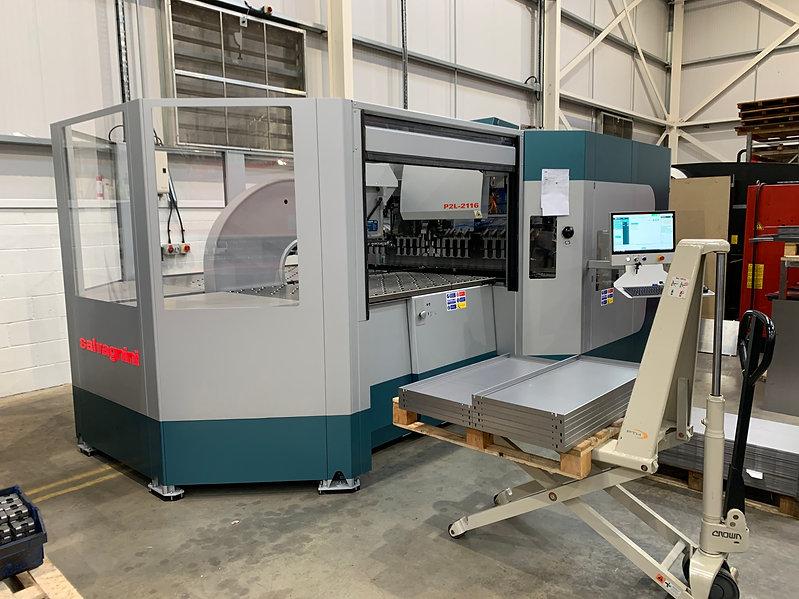 New Salvagnini Panel Bending Machine